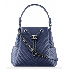 BOLSA CHANEL CHEVRON DRAWSTRING