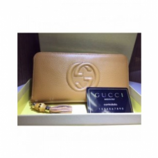CARTEIRA GUCCI SOHO LEATTHER ZIP