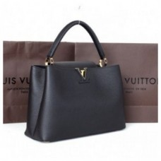 BOLSA LOUIS VUITTON ELEGANT CAPUCINES GM