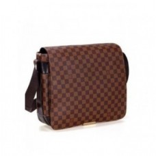 PASTA LOUIS VUITTON MESSENGER ABBESSES DAMIER EBENE